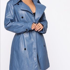 Trench coat blue - never worn